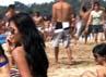 Pantai Sawarna menjadi setting film garapan Rizal yang satu ini. (Maxima Picture)