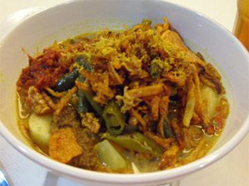 Resep Sayur: Lontong Sayur Medan