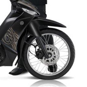 Roda Vega ZR Miring ke Kiri