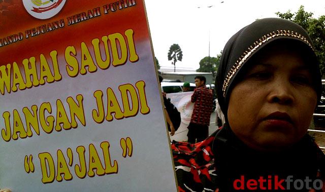 Aksi untuk Ruyati di Kedubes Arab Saudi