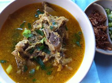 Resep Daging :Soto Tangkar
