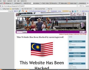 Website Kemenbudpar Disusupi Hacker