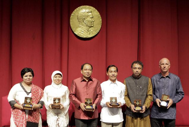 2 WNI Raih Ramon Magsaysay Award