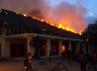 Sebanyak 9 unit PMK dikerahkan ke lokasi untuk menjinakkan api.