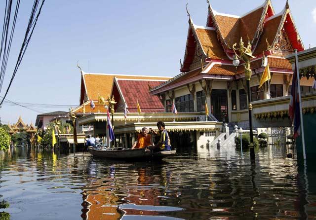 Banjir di Thailand Meluas