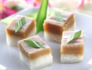 Resep Kue: Ketan Lapis Srikaya