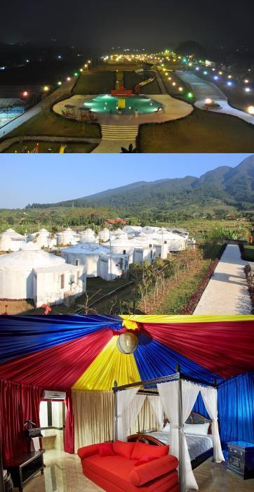 Liburan ala Mongolia di The Highland Park Resort Hotel Bogor