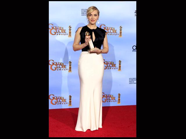 Kate Winslet Raih Golden Globe 2012
