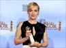 Aktris Kate Winslet kembali meraih penghargaan Golden Globe Awards yang berlangsung di Beverly Hills, Amerika Serikat. Reuters/Lucy Nicholson.