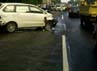 Beruntung tidak ada korban jiwa dalam insiden ini. Namun sejumlah kendaraan rusak. Kompol Bestari Harahap/Kepala Induk PJR Jagorawi.