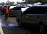 Akibat kecelakaan ini antrean kendaraan mengular hingga lebih dari 5 Km. Kompol Bestari Harahap/Kepala Induk PJR Jagorawi.