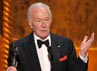 Aktor senior Christopher Plummer memenangkan penghargaan kategori Outstanding Performance by a Male Actor in a Supporting Role lewat Beginner. Getty Images.