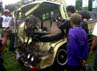 Salah satu truk ringsek ditabrak Bus Jaya Prima. Faiq Resha/detikNews.