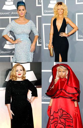 9 Busana Terbaik & Terburuk Seleb di Grammy Awards 1