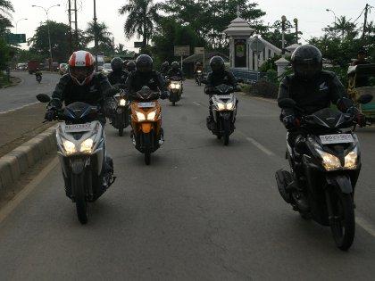 Konsumsi BBM Honda Vario Tembus 78 Km/Liter