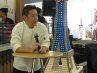 Executive Chef Oh La La, chef Adrianus Putra atau Chef Andre turut berbagi cerita. Dengan santai dan seru, Chef yang ramah ini bercerita mengenai pengalamannya memasak di Amerika dan Indonesia, hingga akhirnya berlabuh di Oh La La Cafe.