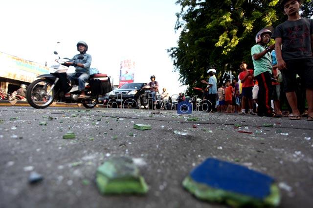 Kebut-kebutan, Dua Metro Mini Kecelakaan