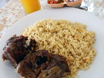 Makan Nasi Kebuli di Kampung Arab