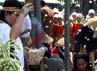 Berharap agar Borobudur tetap lestari karena Borobudur mampu memberikan kehidupan bagi warga sekitar.