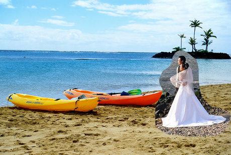 Foto Wedding Mahal, Photoshop pun Jadi Pilihan