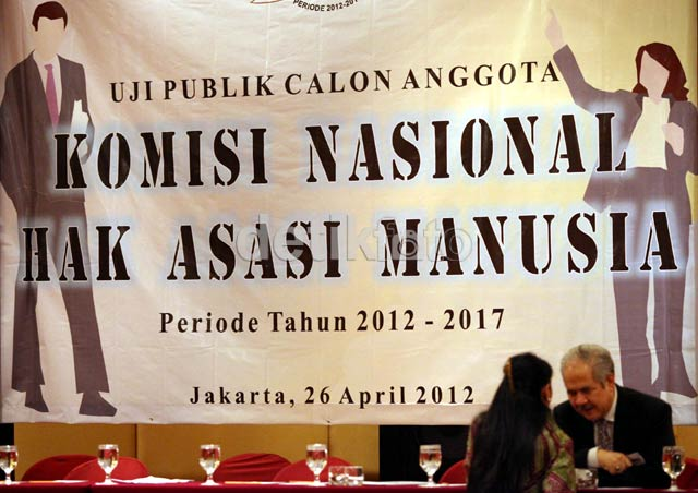 Calon Anggota Komnas HAM Lakukan Uji Publik