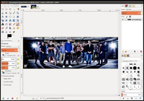 Aplikasi Foto GIMP 2.8 Hadir dengan Sejumlah Perbaikan