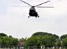 Helikopter Mi-17 sebagai alat angkut para prajurit penerjun payung. (Aloysius Jarot Nugroho).