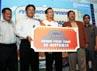Program yang berlangsung 15 Februari-15 Mei 2012 tersebut menawarkan hadiah Grand Prize 7 paket tour bersama keluarga ke Australia dan 70 paket beasiswa. (Humas BRI).
