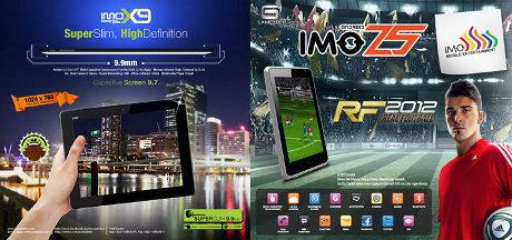 Tablet Android IMO Dibanderol Rp 1 Jutaan