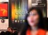 Berbagai jenis ponsel selular digelar dalam pameran Internasional Cellular Show 2012.
