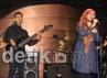 Band La Luna tampil membawakan lagu-lagu hitnya di saat peluncuran album terbarunya. Agung Pambudhy/detikcom.