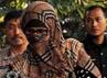 Istri Nazaruddin tersebut ditangkap di rumahnya di kawasan Pejaten, Jakarta Selatan.