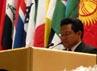 Muhaimin Iskandar berpidato di sidang International Labour Conference (ILC/Konferensi Ketenagakerjaan Internasional ) ke-101. Muhaimin menyerukan agar Negara-negara anggota ILO membentuk Koalisi Global dalam menghadapi krisis dan ancaman pengangguran usia muda. (Dok. Humas Kemnakertrans)