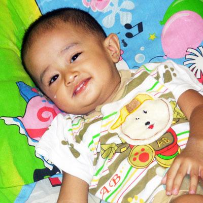 Abimanyu Senna Aprilio, 2,2 Tahun; Lelaki; m