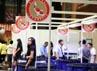Super Koi Show 2012 diikuti peserta dari dalam dan luar negeri, di antaranya Malaysia, Hong Kong, Thailand, Cina, Thailand, dan Jepang.