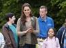 Kate terlibat dengan semua aktivitas bersama anak-anak di sana. David Parker-WPA Pool/Getty Images.