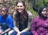 Kate terlibat dengan semua aktivitas bersama anak-anak di sana. David Parker-WPA Pool/Getty Images.David Parker-WPA Pool/Getty Images.
