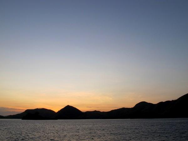 Saat sudah sempurna, warna langit hanya akan menguning (Shafa/detikTravel)