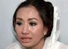 Shinta mengaku akan membawa sang ibunda ke Jakarta untuk berobat hingga sembuh. Herianto Batubara/detikHot.
