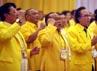 Sharif Cicip Sutarjo dan Fadel Muhammad terlihat hadir dalam Rapimnas tersebut. Dalam Rapimnas tersebut, perwakilan dari DPD-DPD Golkar akan memberikan pandangan umum mengenai pencapresan Ical.