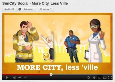 EA Cemooh Zynga di Trailer SimCity Social Terbaru