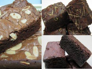 Hmm... Yummy Chewy Crunchy, Mana Brownies Paling Enak?