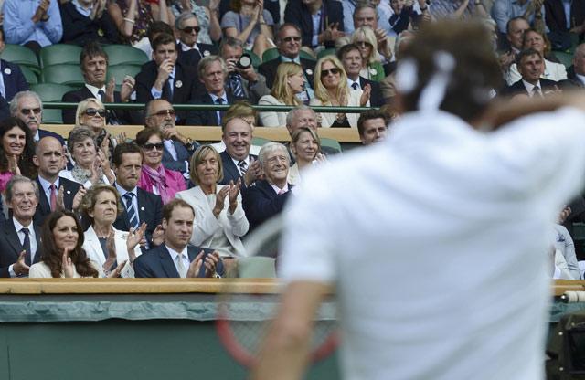 William & Kate Menyaksikan Wimbledon