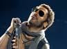 Bintang film Hunger Games itu juga ikut bernyanyi. Carlos Alvarez/Getty Images.