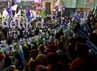 Ribuan orang menghadiri kampanye tersebut.