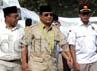 Kedatangan Prabowo ke Situbondo untuk bersilaturahmi dengan dua tokoh kharismatik, yakni KHR Kholil Asad dan KH Azaim Ibrahimy. Ghazali Dasuqi/detikcom.