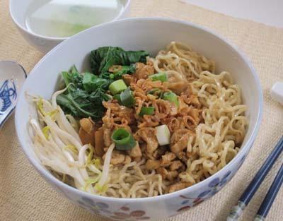 Resep Mi: Mie Ayam Bangka
