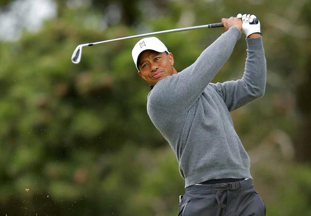Tiger Woods Berlatih untuk British Open