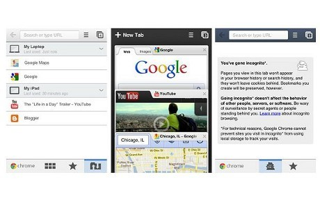Google Chrome Mobile Mulai Usik Apple Safari