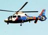 Helikopter dari kepolisian terus memantau dari atas.